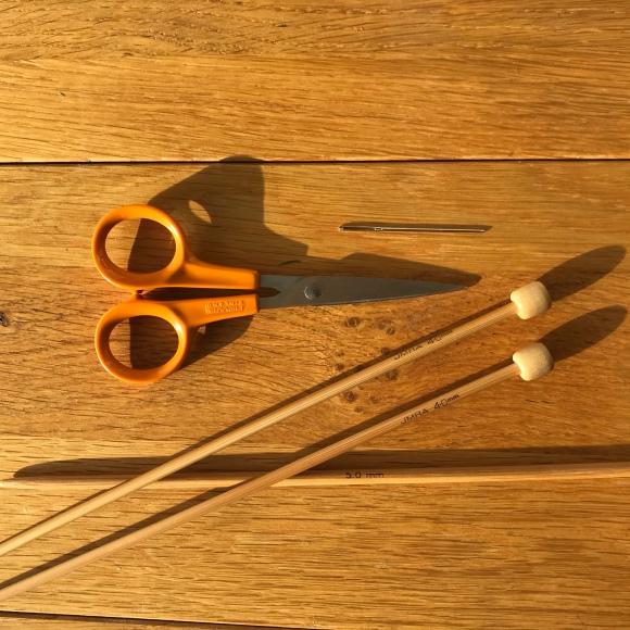 Πλέξιμο με βελόνες: Εργαλεία