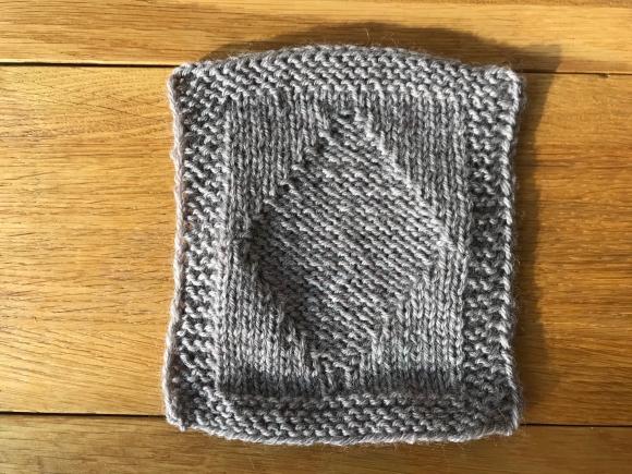 Πλέξιμο με βελόνες: Πλέξιμο με σχεδιάγραμμα